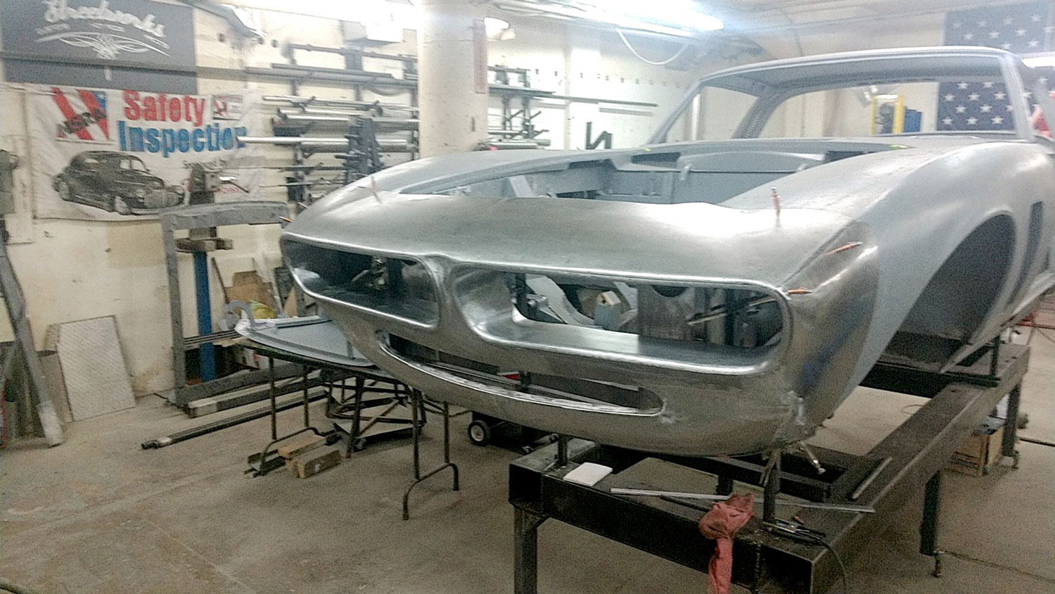 Iso Grifo Series I Receiving new nose