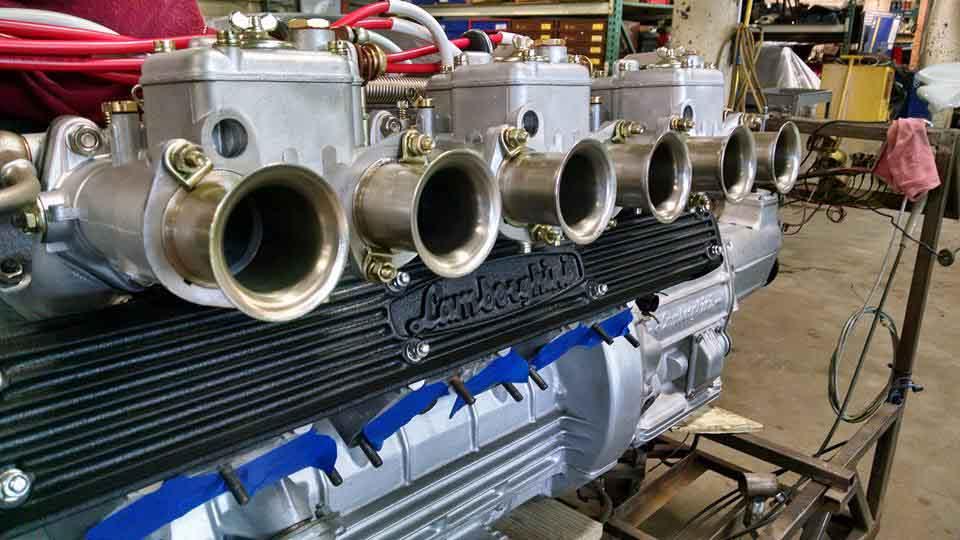 Lamborghini V12 engine